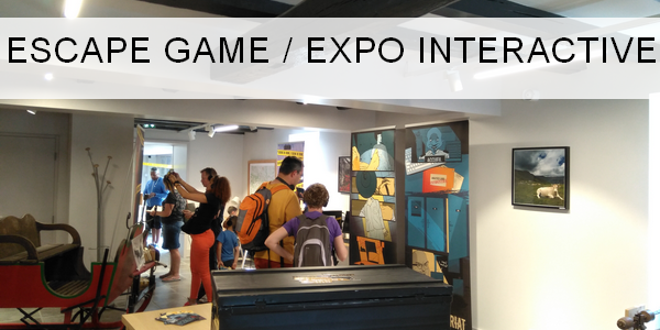 Escape gme expo intercative